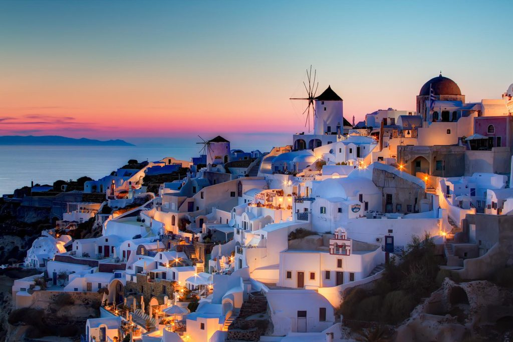 Santorini Greece Night Life
