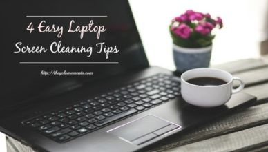 4 Easy Laptop Cleaning Tips