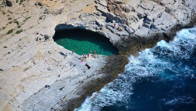 The Giola Lagoon, Greece - Most Natural Pool