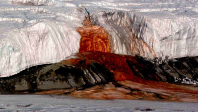Blood Falls Antarctica Mystery - 7 Surprising Blood Falls Antarctica Facts