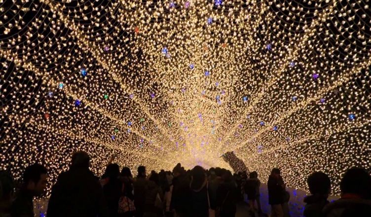 Winter Light Festival Kuwana City Japan - Travel Destination