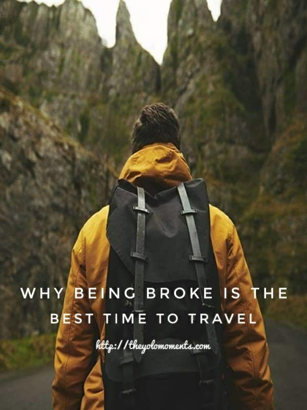 Why Being Broke Is The Best Time To Travel - Photo Credits: Pexels Free Stock Photos
