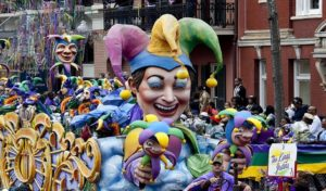 Most Popular Student Spots Worldwide 2018 - New Orleans USA Mardi Gras
