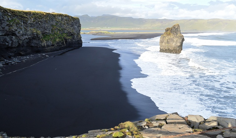 Beautiful Black Sand Beaches in the World - Reynisfjara beach