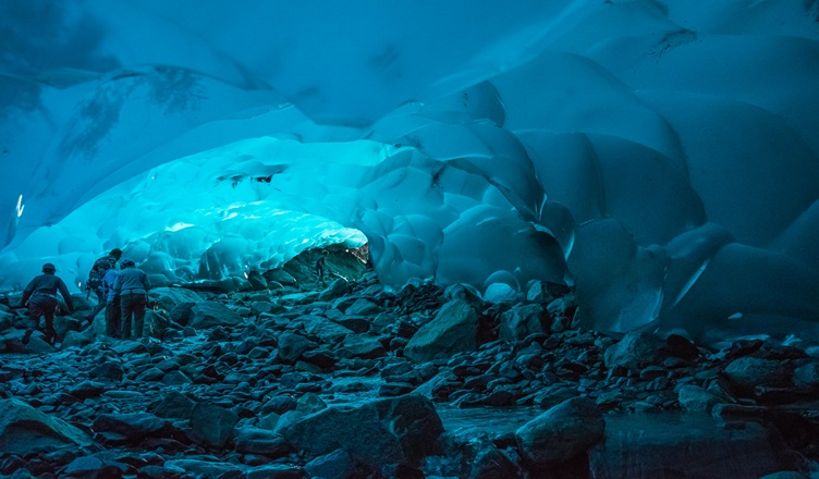 Facts Mendenhall Ice Caves - Juneau Alaska