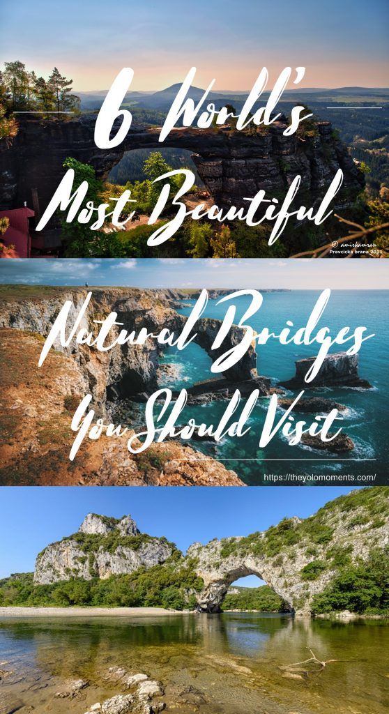 World's Most Beautiful Natural Bridges - The Yolo Moments